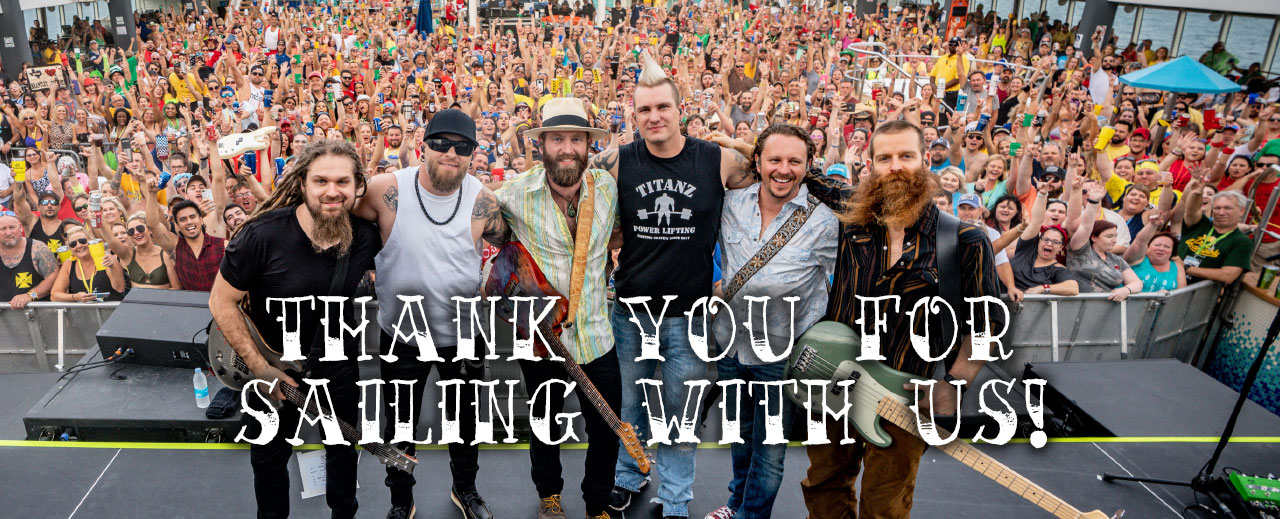 Thanks for Sailing with Us!