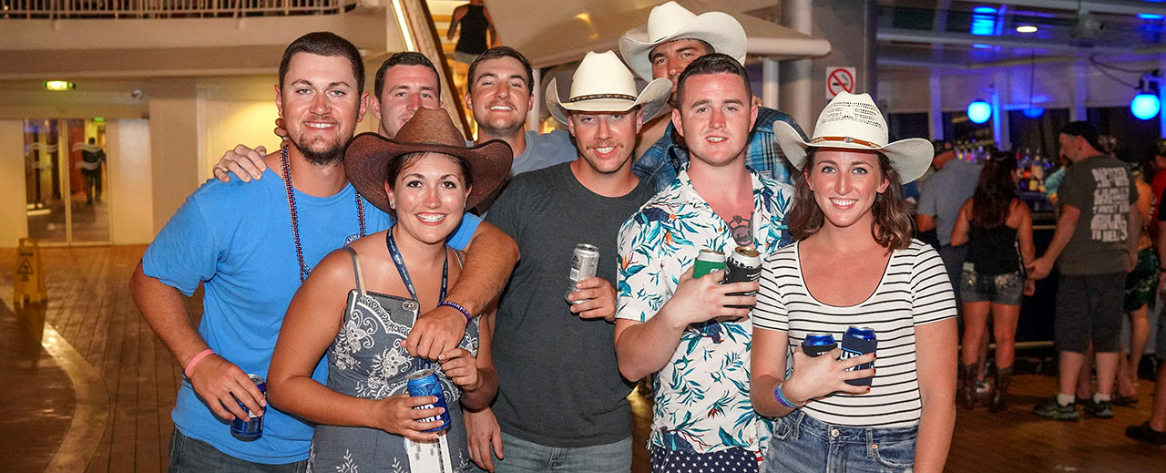 Brantley Gilbert's Kick It in the Ship Cruise Theme Night