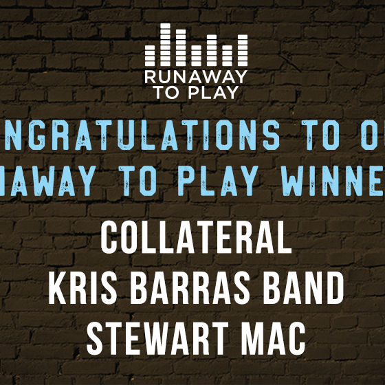 And Your Runaway to Play Winners Are...