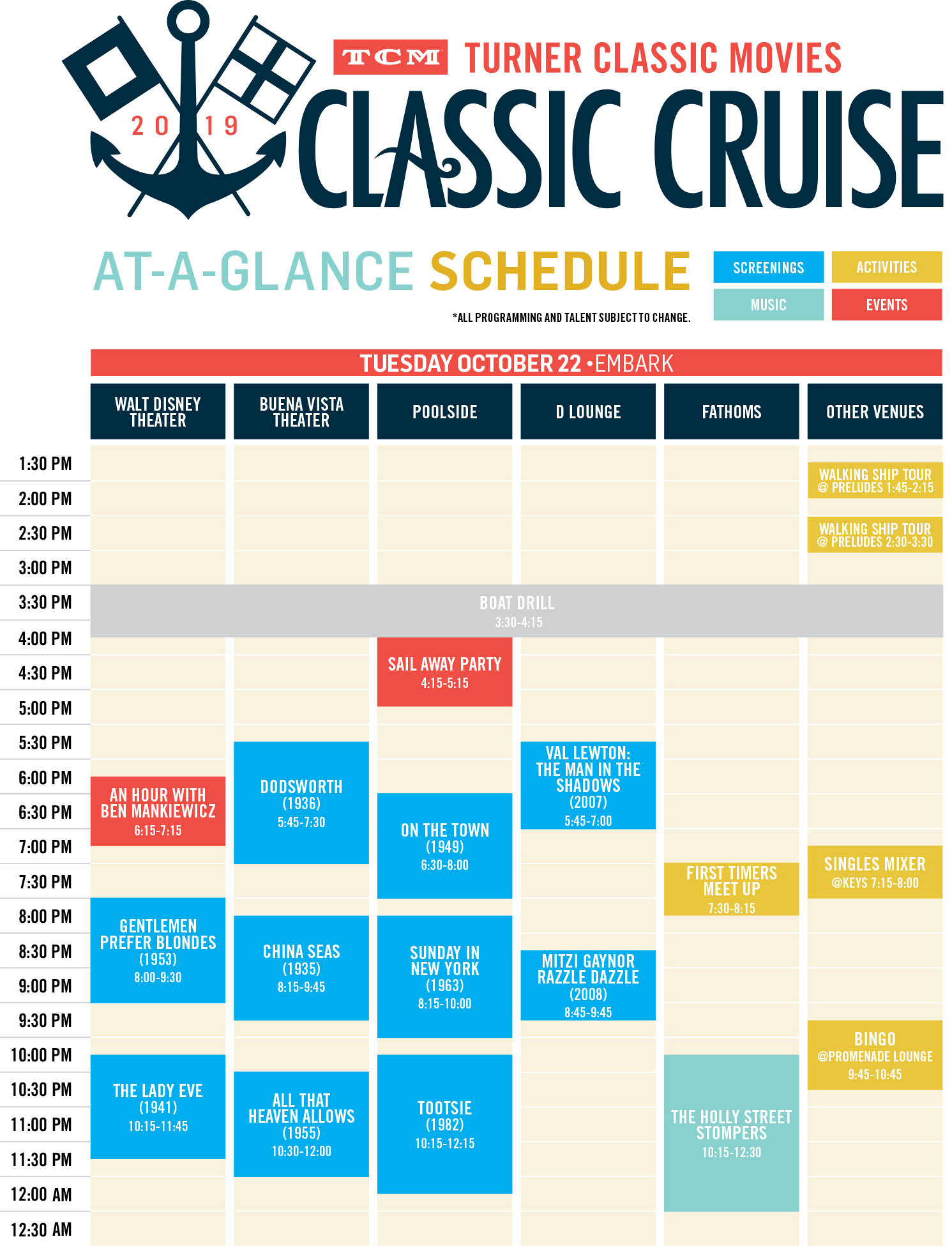 TCM Classic Cruise