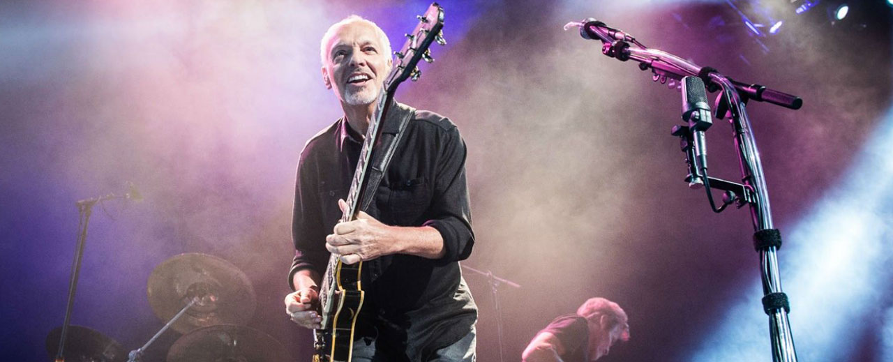 Q&A with Peter Frampton